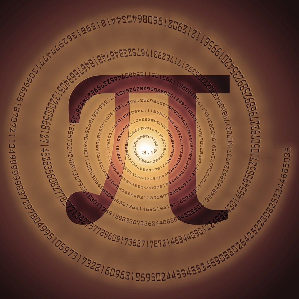 Pi Day is March 14