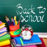 Back to school homeschool supplies