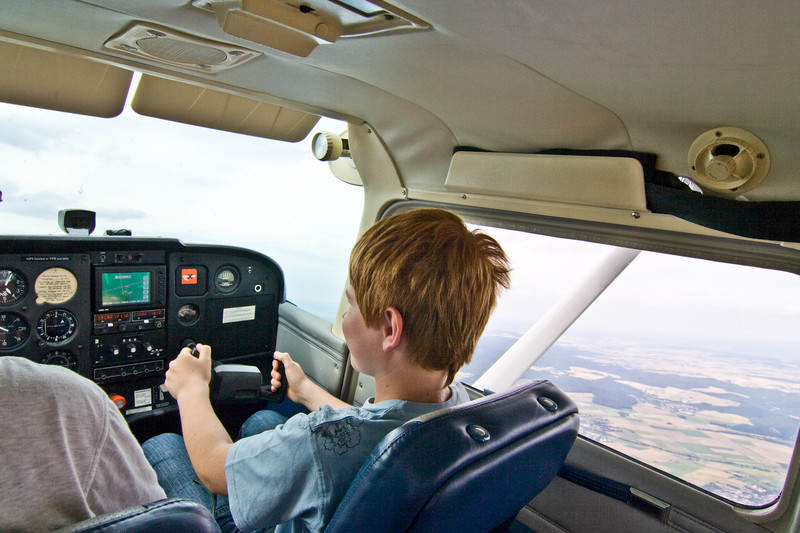 June 12th: Flight Lesson with a REAL Pilot!