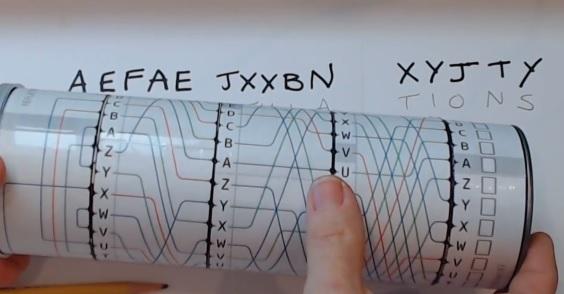 Paper Enigma Machine