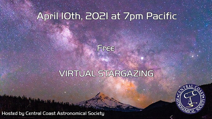 April 10 Stargazing!