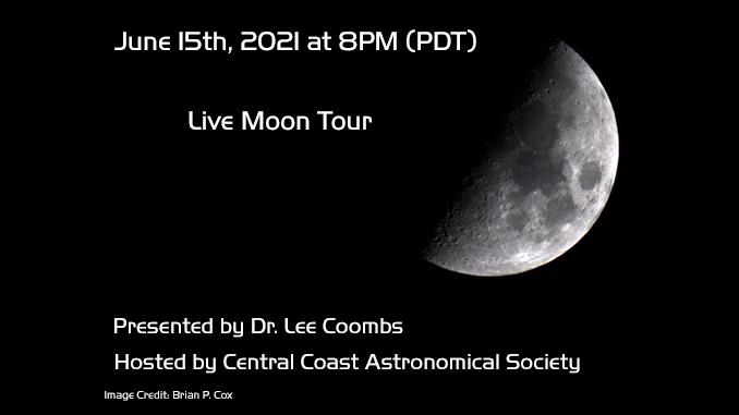Live Moon Tour on June 15!