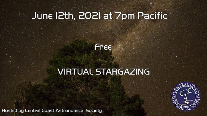Stargazing on June 12th