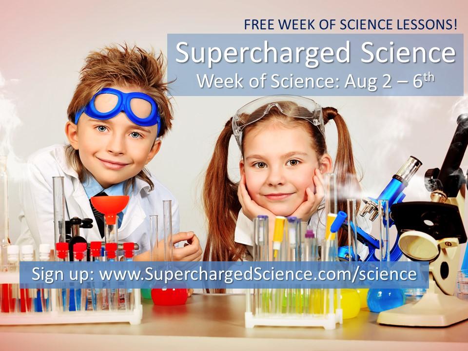 Week of Science: 8/2-6